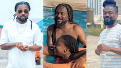 Samini's Daughter Ayana all grown in new Photos as she turns 11; Fans say she is pretty