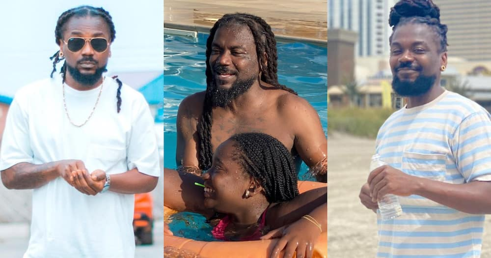 Samini Flaunts His Pretty Daughter Ayana In New Photos As She Turns 11