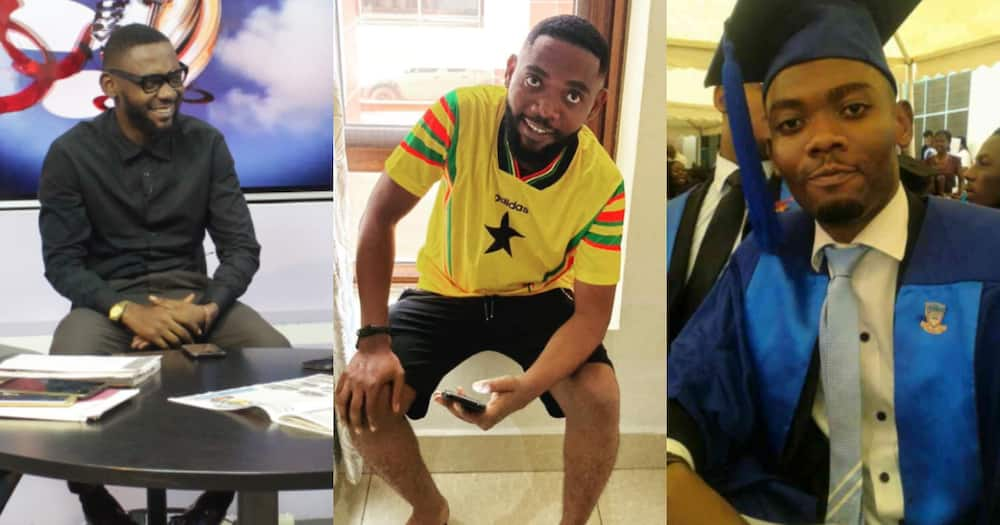 Kofi Annor: Handsome Ghanaian sports analyst reported dead; heartbreaking photos emerge