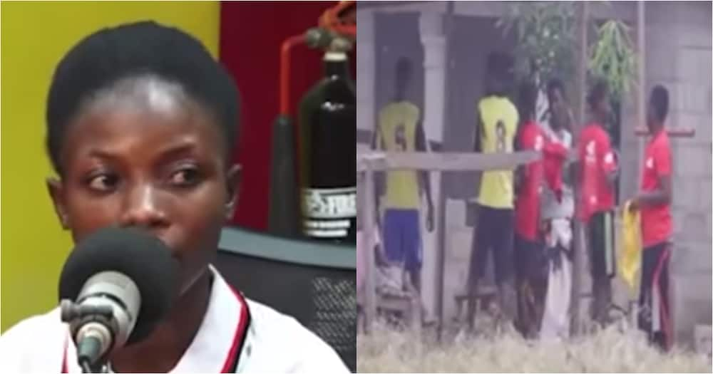 Emelia Sarpong: Ghanaian lady recounts chilling struggle as female footballer-turned-coach (Video)