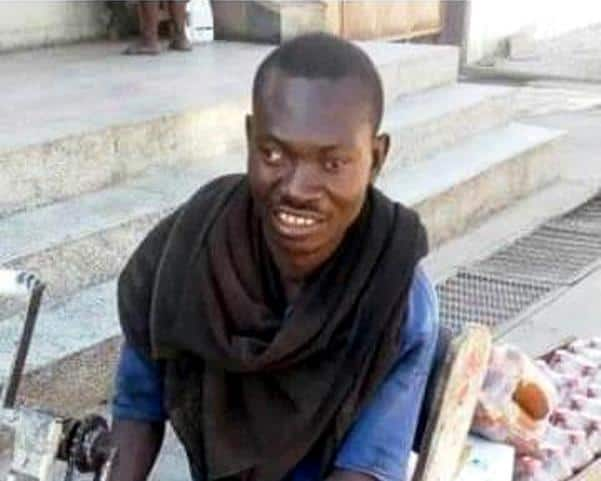 Meet Joseph the disabled trader who is making waves online (Photos)