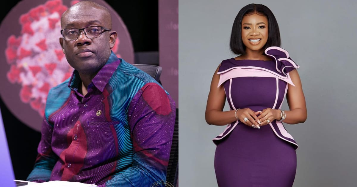 Nighttime photo of Serwaa Amihere and Kojo Oppong Nkrumah causes stir; she says he is her best friend