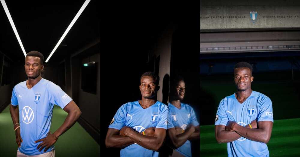 Ghanaian forward Malik Abubakar completes move to Swedish giants Malmo FF