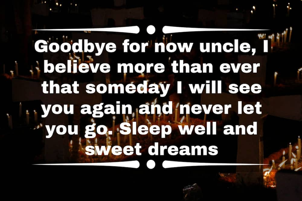 rest in peace quotes for uncle
