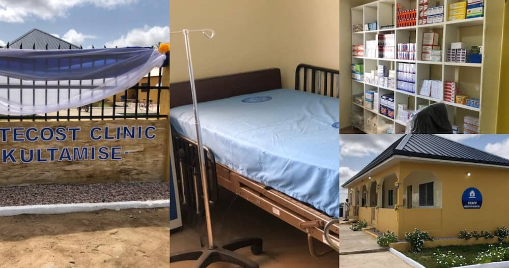 The Church of Pentecost Builds & Unveils Clinic at Kultamise in North East Region