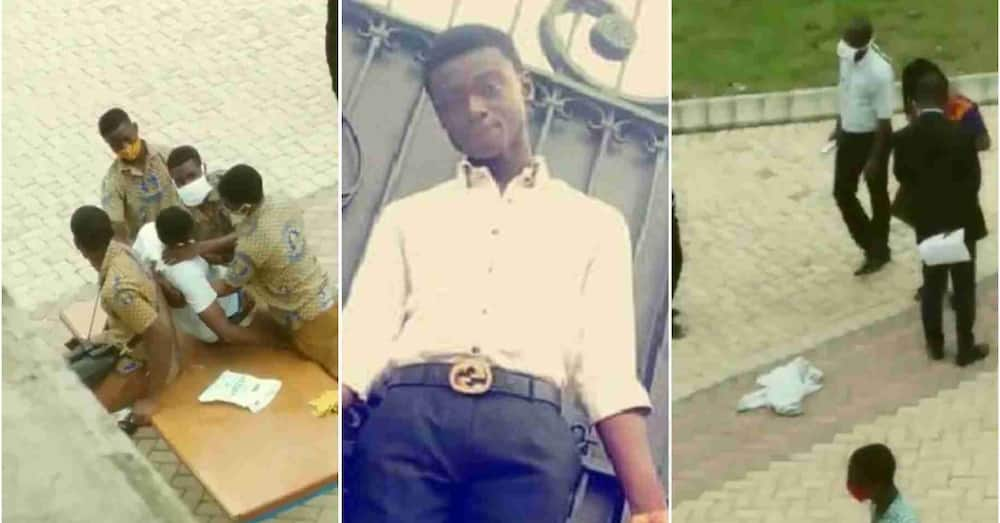 Father of KNUST SHS student narrates chilling account of son's death