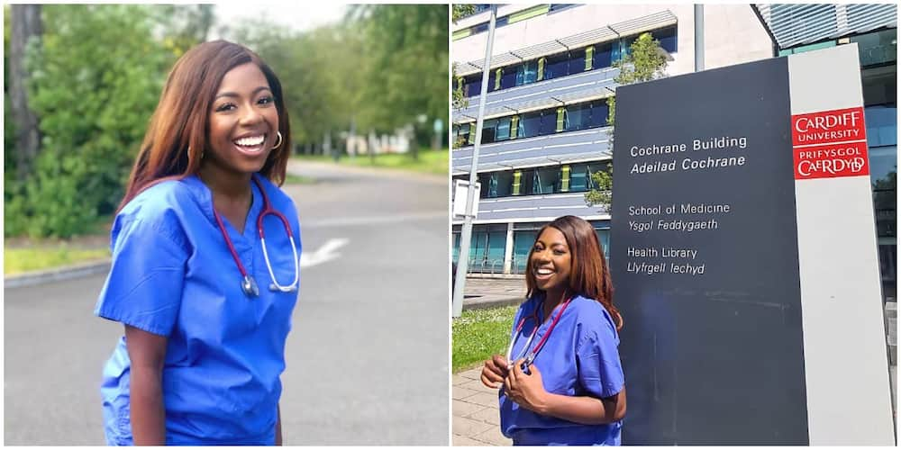 Nigerian woman shares excitement as she becomes medical doctor from Cardiff University, UK