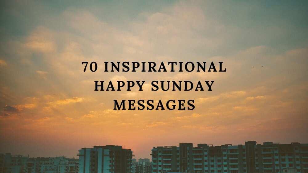 happy Sunday message