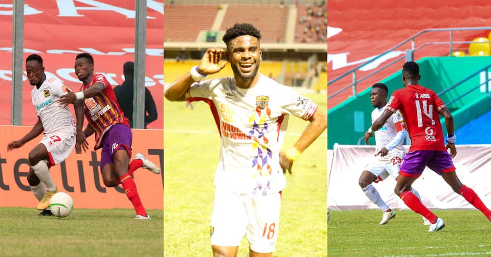 GPL Round-Up: Hearts silence Kotoko, Inter Allies relegated and Dreams FC fall in Dormaa
