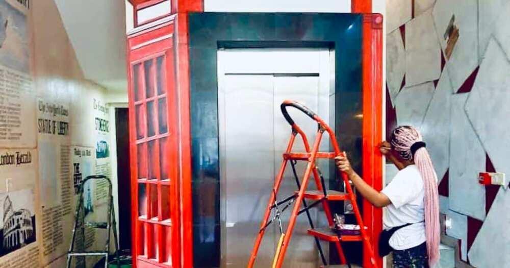 Creative Artist Who Transformed Elevator Into Cute Bus Lands Job With Pepsi, Mirinda