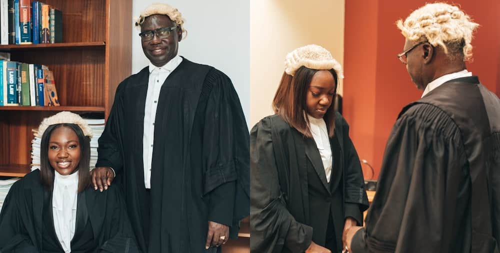 Ghanaian man and daughter both called to the bar