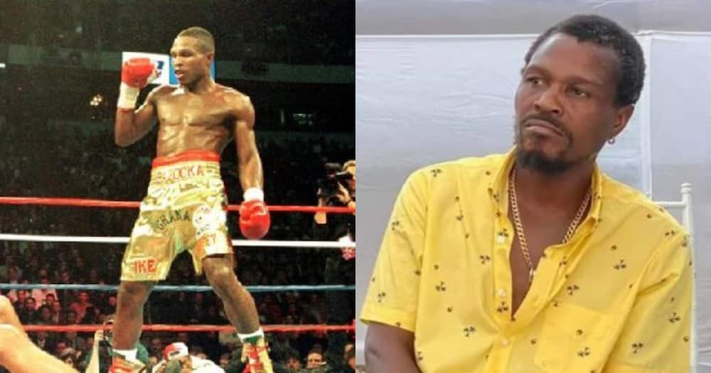 I love my wife and my children, I won't do drugs - Retired boxer Ike Quartey