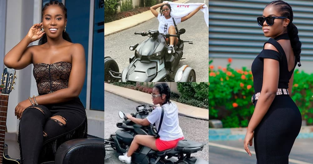 MzVee flaunts expensive trike in new video and photo