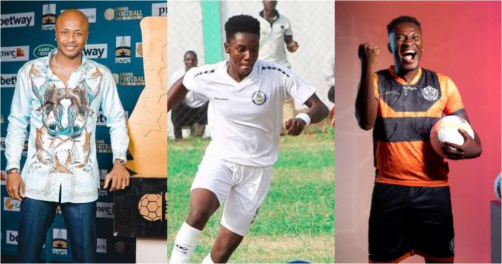 Full list: Ophelia Amponsah, André Ayew, Asamoah Gyan, win big at 2021 Ghana Football Awards