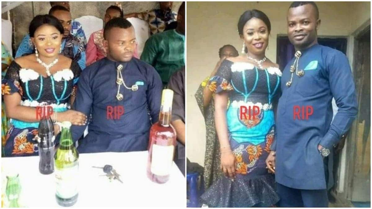 Tears flow as young couple die two weeks to their wedding in car crash