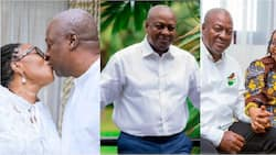Lordina pens emotional love letter to her soul mate as Mahama turns 62; Ghanaians shout