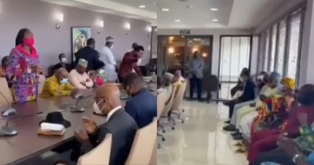 Ghanaian MPs pray with hot Tongues Against LGBTQ Ahead of Private Member Bill to Criminalize it in Video