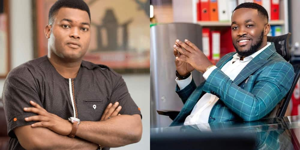 Kennedy Osei, Kwadwo Safo and 5 other sons of filthy rich men in Ghana