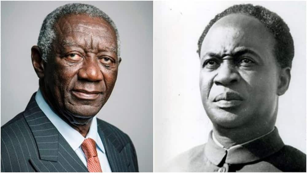 FixtheCountry: Kufuor blames Nkrumah for Ghana's economic collapse