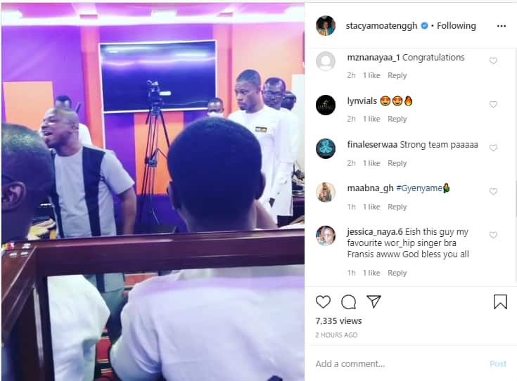 Stacy Amoateng organises launch of Angel FM after resuming managerial role (Photos)