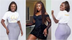 Mrs Frimpong: Fella Makafui wows social media with stunning photos; Medikal reacts