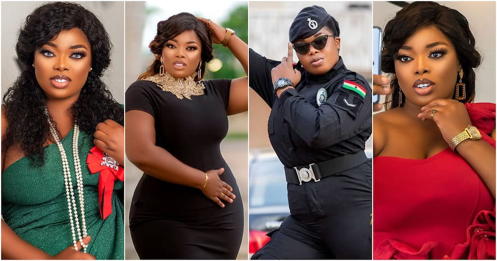 Yvonne Appiah: Beautiful police lady drops gorgeous birthday