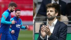 Pop singer Shakira elated after hubby Gerard Pique hits unique milestone inn Champions League