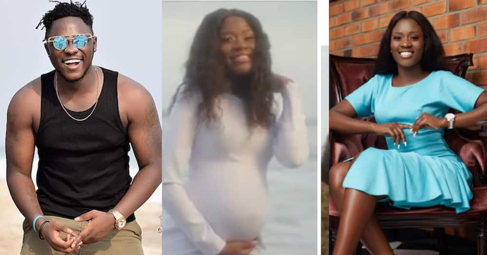 Medikal and Fella Makafui announces pregnancy in new music video