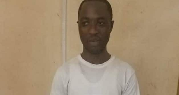 Man caught stealing equipment for railway tracks worth over GHC 100k