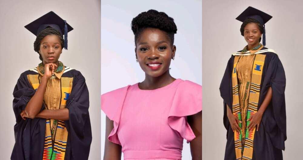 Sandra A. Martey: Lady denied UG cert due to low grades now graduates as valedictorian at UPSA