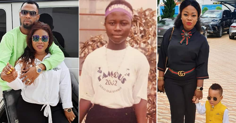 Ciara Antwi: Obofour's wife shares 19-year-old throwback photo