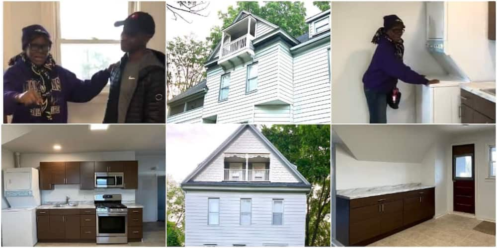 Nigerian man buys house for parents