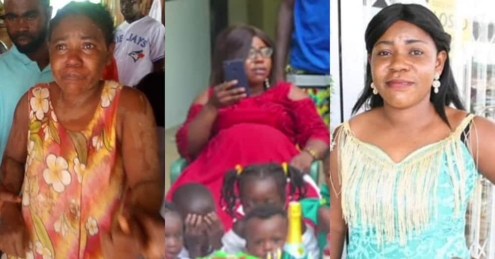 Takoradi Kidnapped Lady Was Pregnant; Baby Bump Video Drops After Western Regional Minister Claimed Otherwise