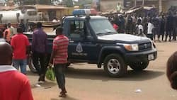 Police and military officers arrested for breaking road traffic laws