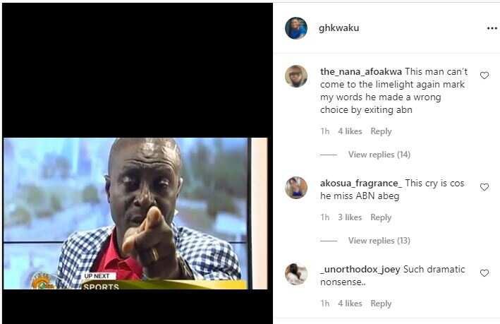 Captain Smart cries on live TV; Fans say he misses Angel FM
