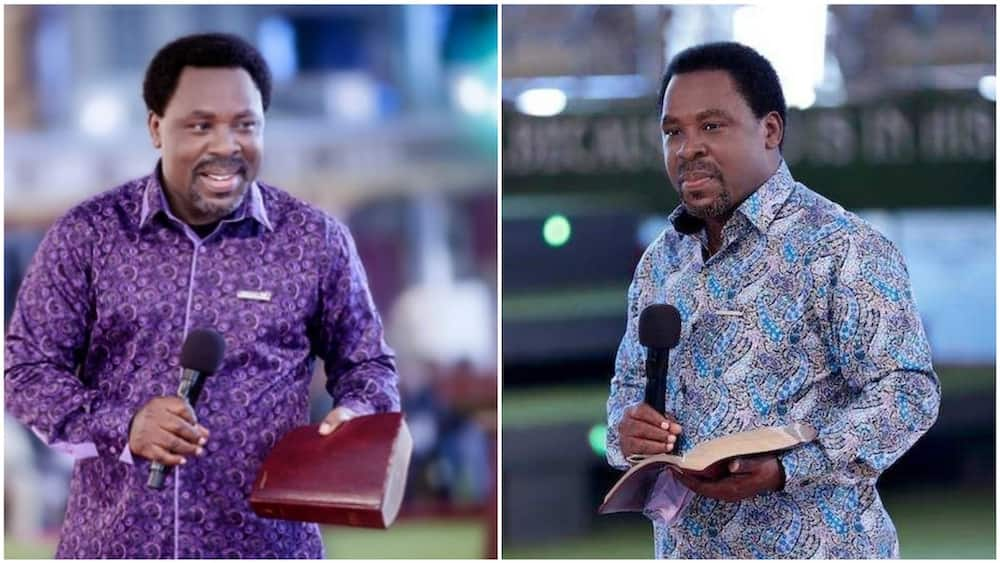 TB Joshua said he has three daughters who are currently at different levels in school. Photos sources: TodayNG/Vanguard
