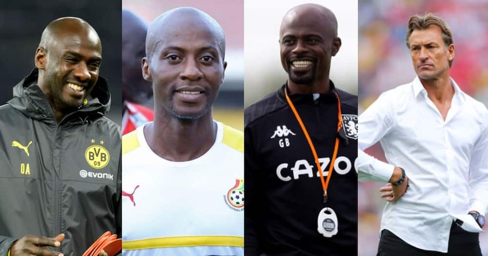 Otto Addo, Tanko and three other possible replacements of C.K Akonnor as Ghana coach
