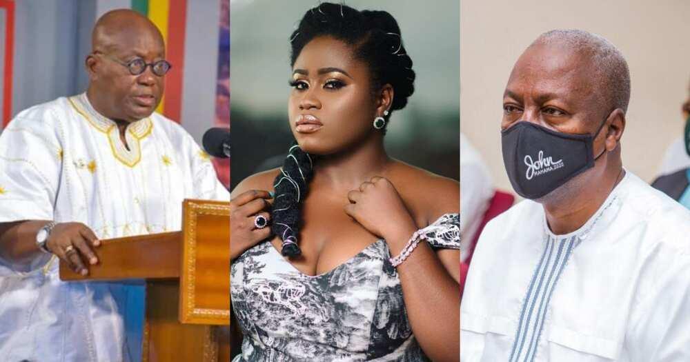 Mahama seemed more tolerant to criticism than Akufo-Addo - Lydia Forson