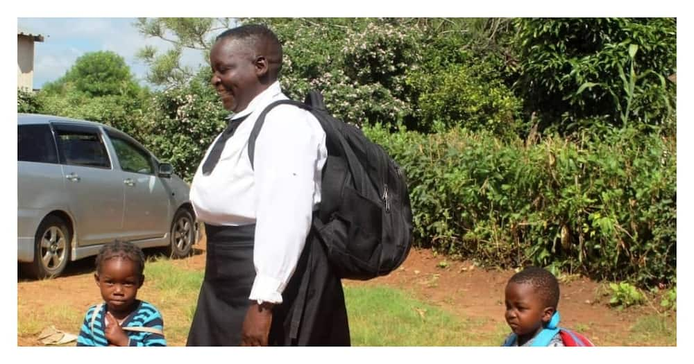 Maureen Ngoma: 62-year-old Mother of 9 Goes Back to Primary School