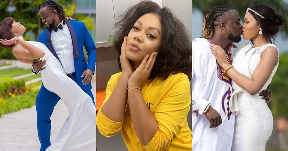 Nadia Buari: Actress Cries over Eddie Nartey Losing wife; Shares Video