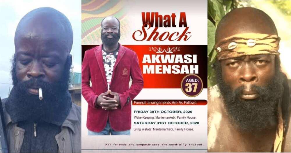 Sekyere Amankwah: Kumawood actors on death rumours; explains funeral poster