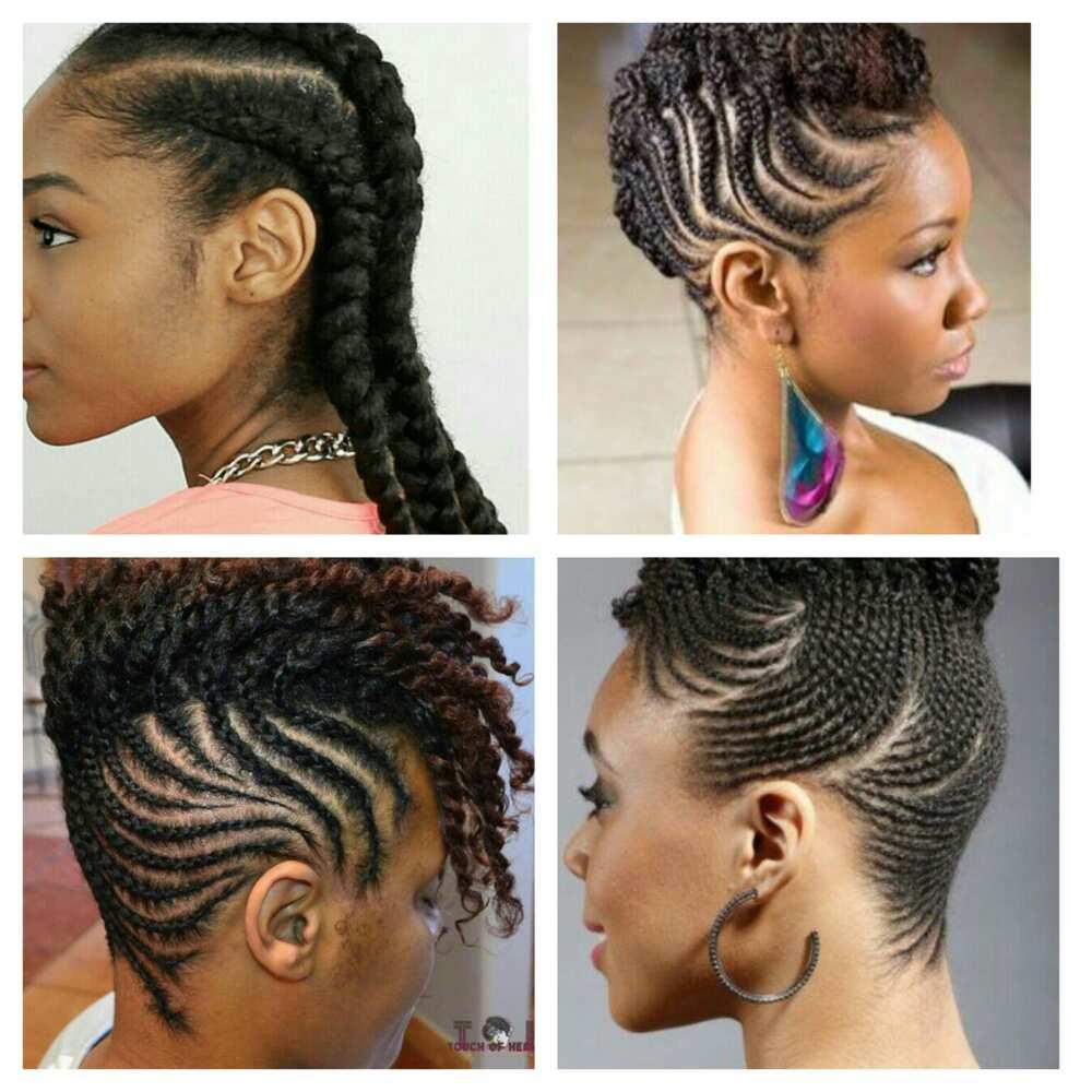 Best Natural Hair Braids Hairstyles Yen Com Gh