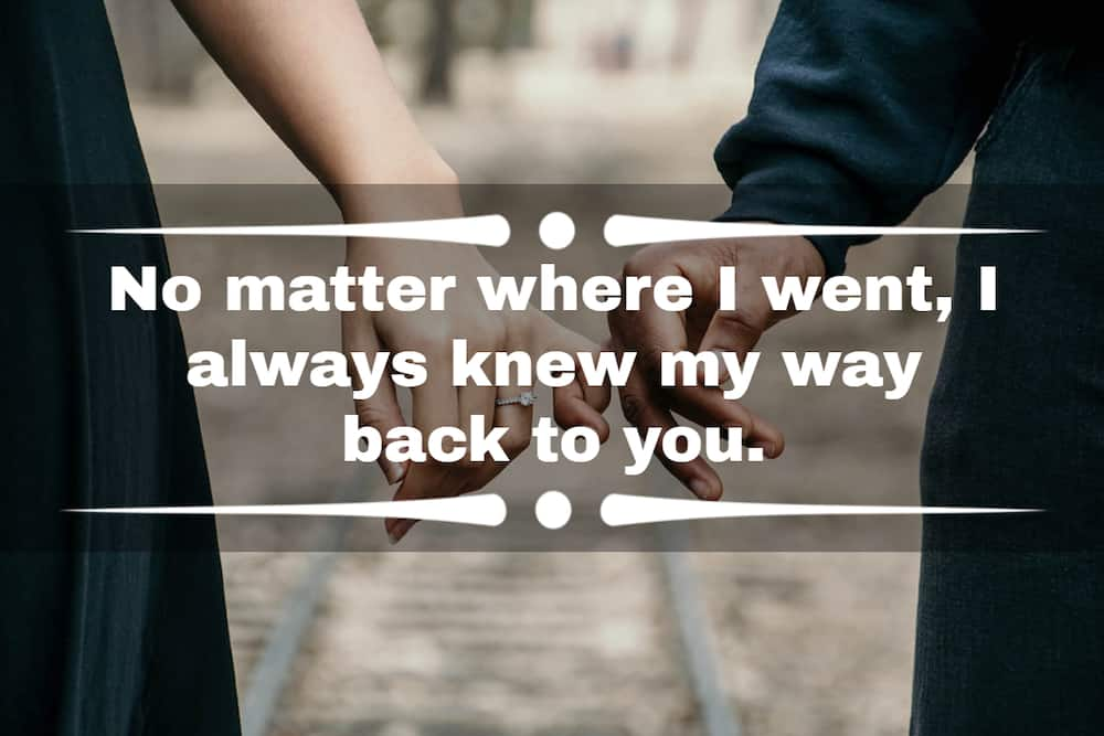 Sweet love message for my wife