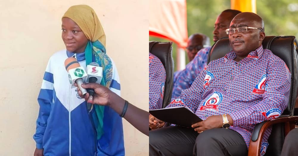 15-year-old pure water seller receives full sponsorship from Bawumia to study Medicine at UDS