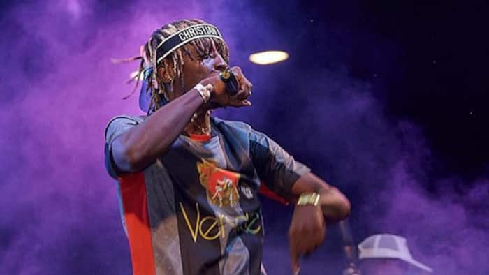 Throwback photo of Kofi Mole looking innocent without his dreadlocks pops up