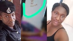 We love together we die together - Sad note left by alleged killer of Damongo policewoman pops up in photo