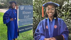 'Maths Shark': Lady is 1st Black woman to earn PhD in Nuclear Engineering from University of Florida