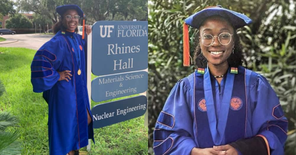 Maths Shark: Brilliant Lady Becomes First Black Woman to Earn PhD in Nuclear Engineering from top US Varsity