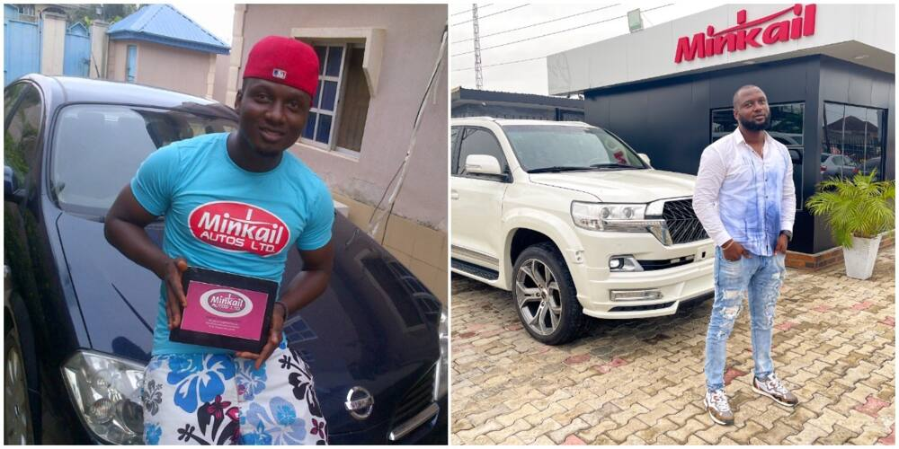Nigerian Man Achieves Huge Success after 8 Years, Shows off His Beautiful Company and Car, Social Media Reacts