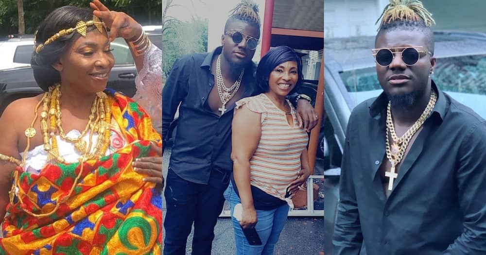 Kyeiwaa: Kumawood actress and Pope Skinny hangout in the US (photo)